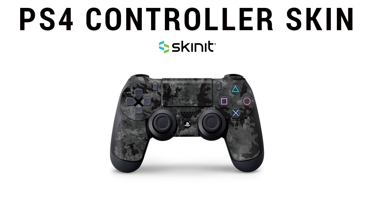how to apply ps4 controller skin