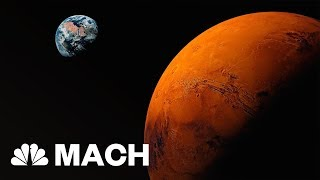 Elon Musk Says SpaceX Will Be Ready With Its Mars Rocket By Next Year | Mach | NBC News