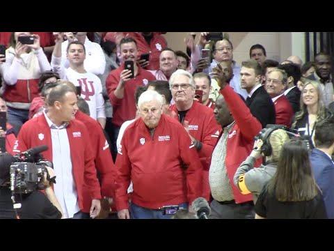 Bob Knight Returns To Assembly Hall