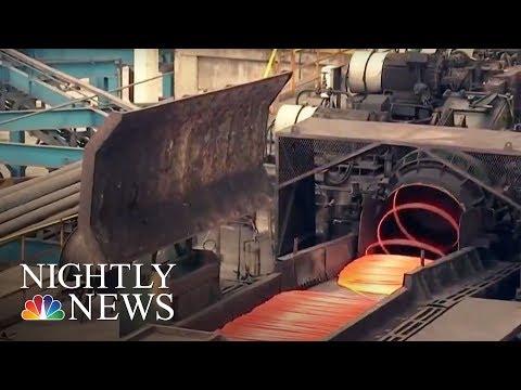 American Businesses Feeling The Pain Amid Tariff Threats | NBC Nightly News