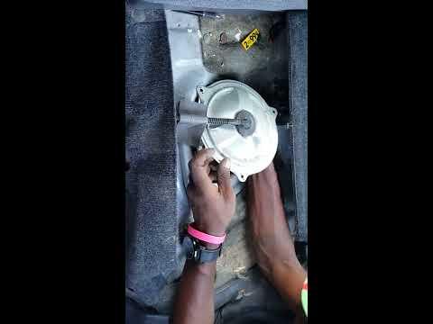 2001 Honda crv fuel pump replacement: