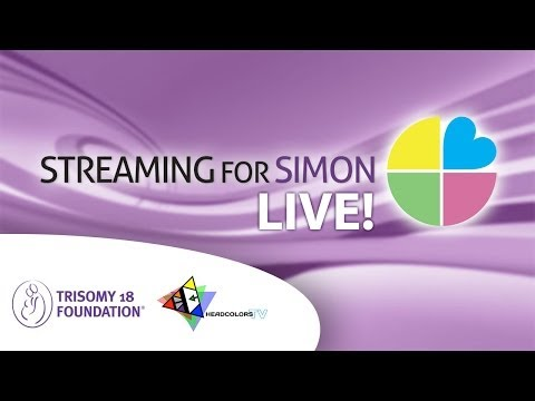 Streaming for Simon: A RetroGaming Livestream to Benefit Trisomy 18 Foundation