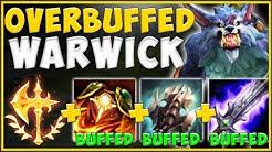 WTF! TRIPLE ITEM BUFFS MAKE WARWICK A 100% ABSURD TOP LANER! WARWICK TOP GAMEPLAY! League of Legends