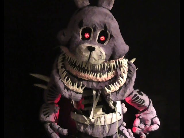 Five Nights at Freddys: The Twisted Ones : Twisted Bonnie Real 6ft Model / Prop