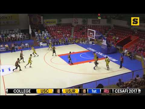 Cesafi Sep. 2, 2017 College Basketball USC vs USJR