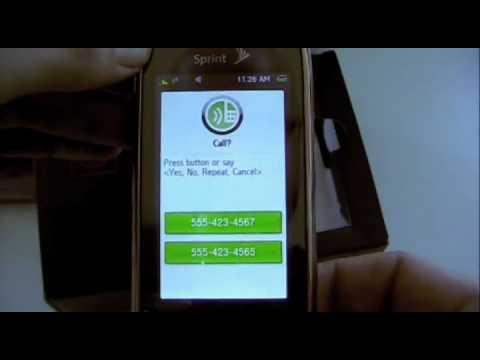 Samsung Instinct s30 (Sprint) Unboxing