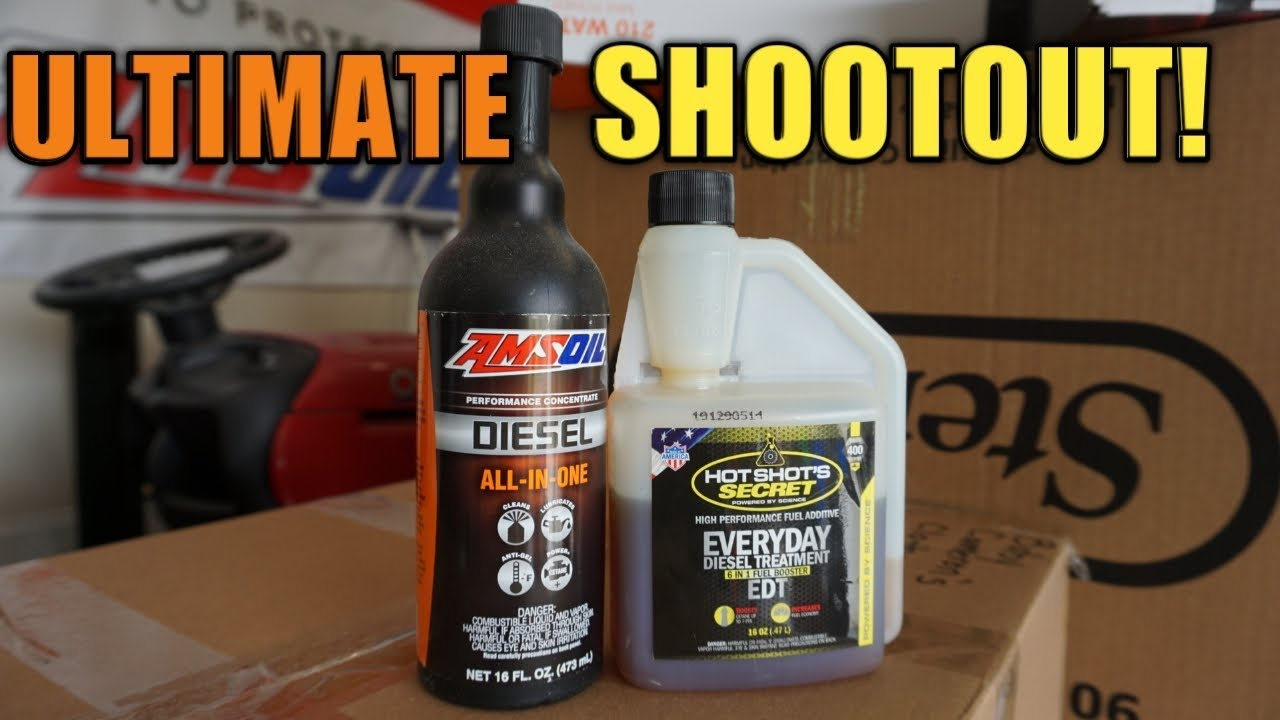 Amsoil Diesel All In One Vs Hot Shot Secret Everyday Treatment
