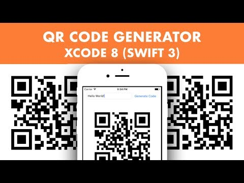 How To Create A QR Code Generator In Xcode 8 (Swift 3)