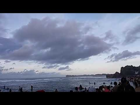 860 Koleksi pemandangan pantai indrayanti HD Terbaru
