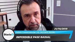 EL DESTAPE - Roberto Navarro - Lo que dejó el 2do Debate Presidencial - 21 10 19