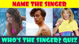 Name the Singer Quiz | Guess the Singer | Music Quiz | Trivia Game | Guess Who?