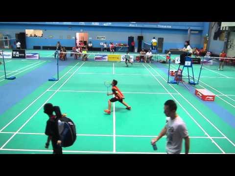 2014 Pilot Pen National Age Group Singles. BSU 13, Wesley Koh vs Hakim. 18 Mar