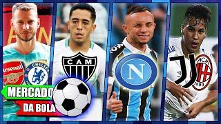Napoli prepara oferta por Everton do Grêmio, Kaio Jorge disputado, Neto quer deixar o Barcelona e+!