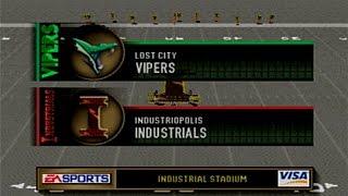 Madden 2000 Secret Teams Vipers vs Industrials