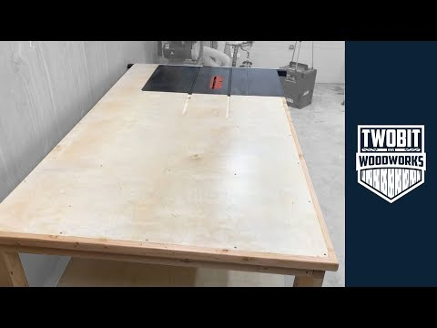 Desk Noticed Outfeed Desk for a Small Store | The right way to Construct – Woodworking