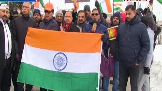 Protest Held In Front Of Pak Embassy Concord, Toronto