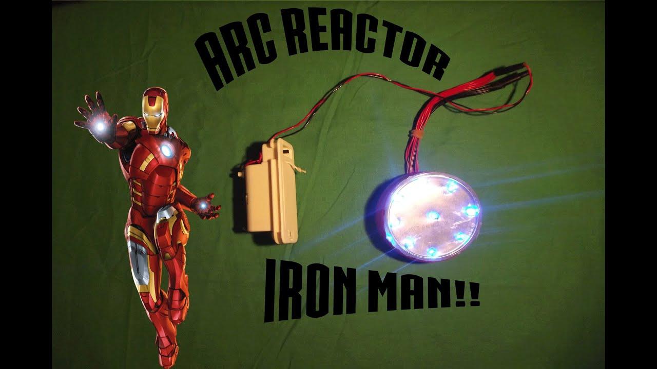 tuto comment fabriquer un arc reactor du film iron man. Black Bedroom Furniture Sets. Home Design Ideas