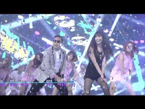 [1080p HD] 120902 PSY feat. IU - Gangnam Style (IU CUT)