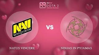 Natus Vincere vs Ninjas in Pyjamas - RU @Map2   Dota 2 Valentine Madness   WePlay!