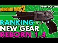 Ranking All 14 New Guns And Weapons for Borderlands 2 Reborn 1.4 Weapon Change List #PumaCounts