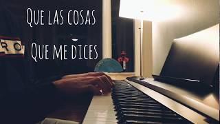 Di mi nombre. Rosalía. Piano Karaoke
