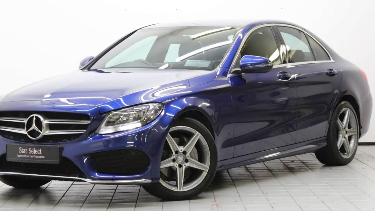 161d20186 mercedes c200 amg blue youtube. Black Bedroom Furniture Sets. Home Design Ideas