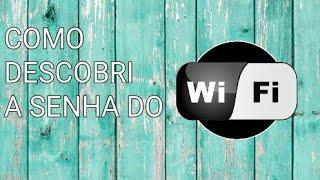COMO DESCOBRIR A SENHA WI-FI DO VIZINHO/ tutorial