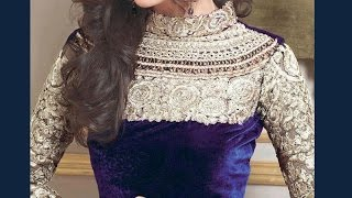 lehenga blouse with standing collar and diamond back design (padded blouse)