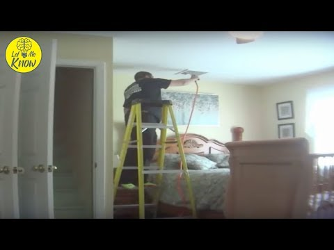 She Set up a Secret Camera and Caught This Repairman Doing Something Dreadful in the Bedroom…