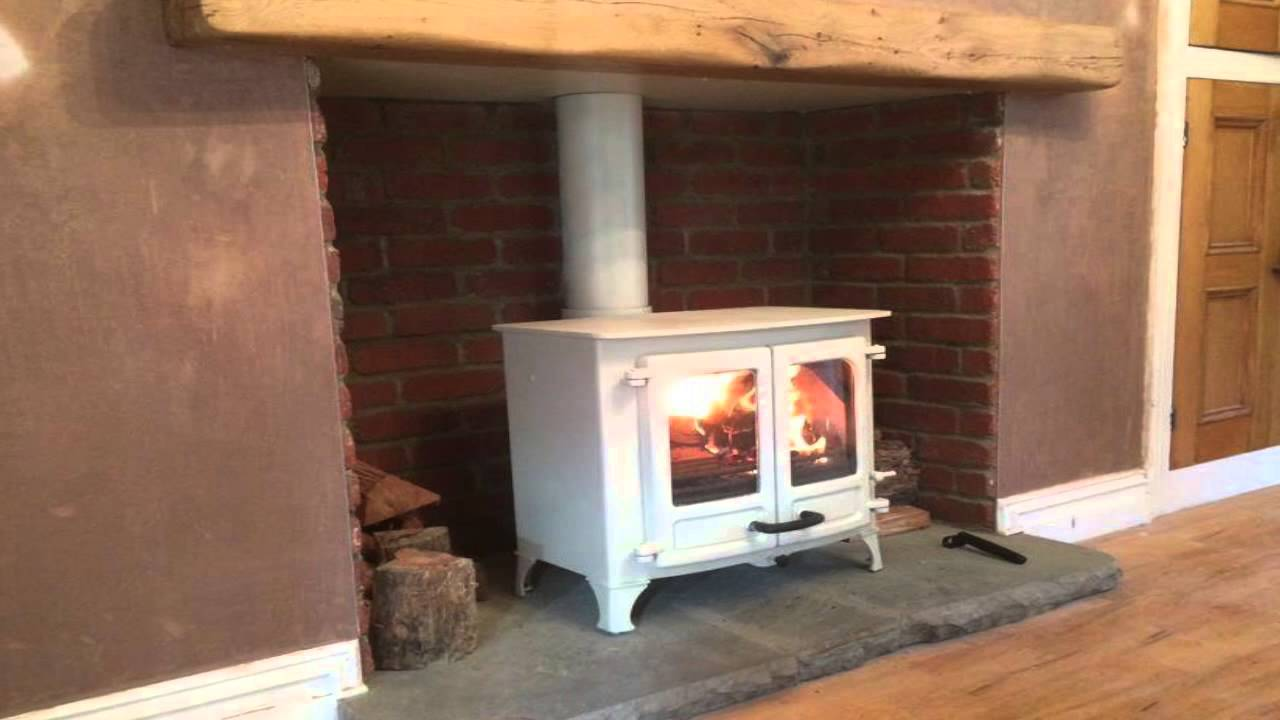 Eazyclad Thin Brickslips being used to clad a fireplace ...