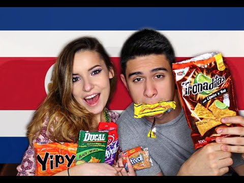 Trying Snacks From Costa Rica! ♥