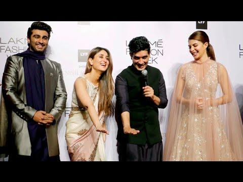 Lakme Fashion Week 2016 | Arjun Kapoor | Kareena Kapoor | Jacqueline Fernandez | Manish Malhotra | P thumbnail