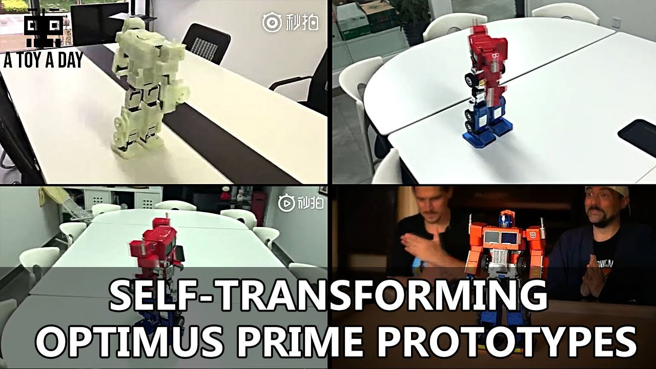 self transforming optimus prime youtube)