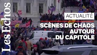 Les supporters de Donald Trump envahissent le Capitole