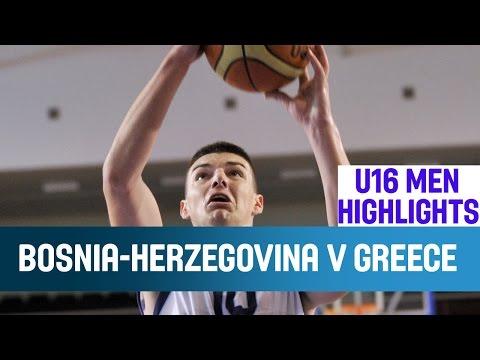 U16 ΕΘΝΙΚΗ ΑΝΔΡΩΝ | Video : Στιγμιότυπα Βοσνία κ Ερζεγοβίνη - Ελλάδα 56-51. Δεύτερη ήττα και τελικός ο επόμενος αγώνας (22.08) με την Κροατία