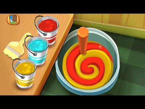 Kids Learn Household Projects Building to Installing - Kids Activity Learning Games