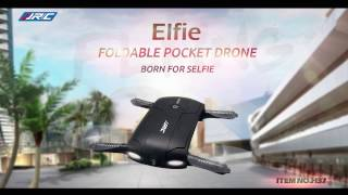 Original JJRC H37 6-Axis Gyro ELFIE WIFI FPV 720P Camera Foldable G-sensor Mini RC Selfie Drone
