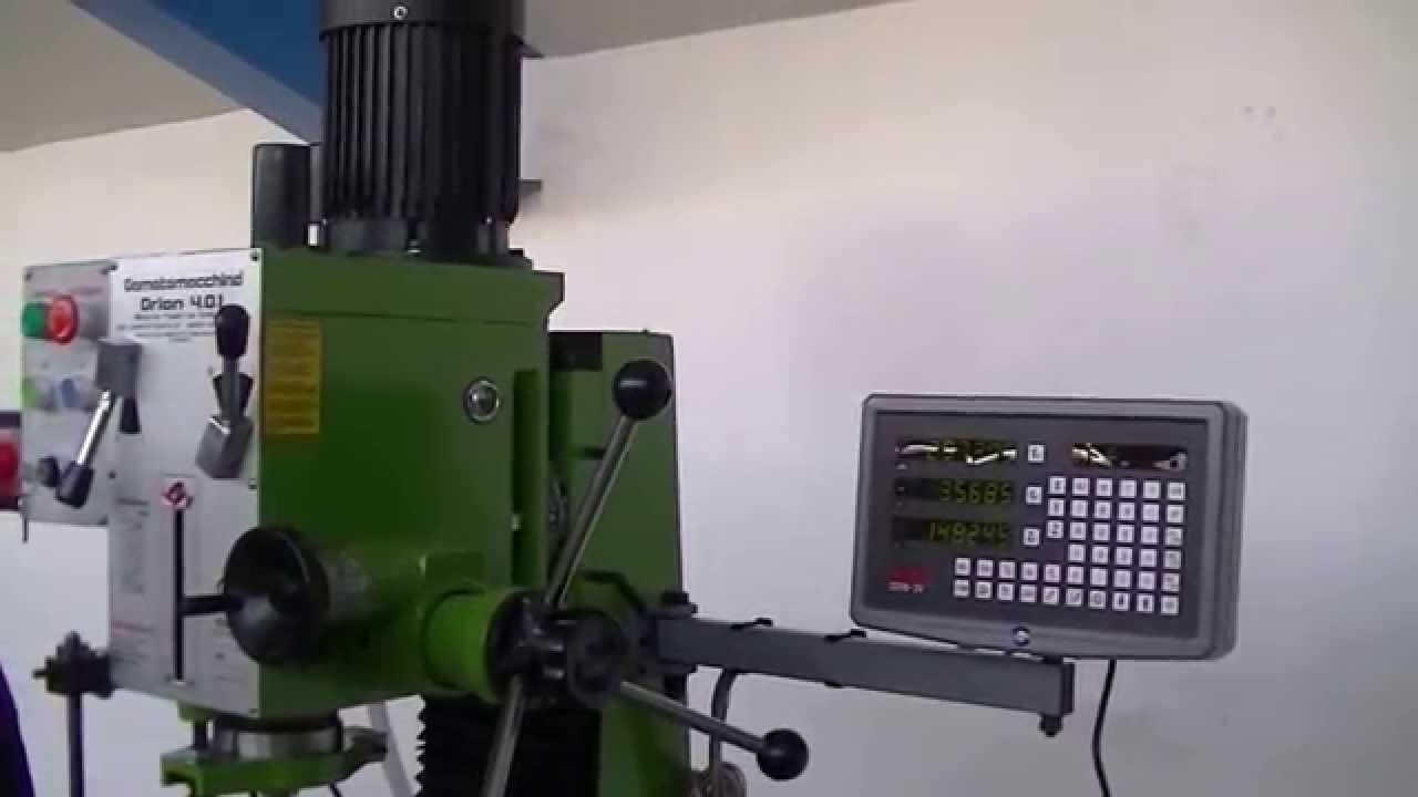 Fresatrice per Metalli Orion 4 0 Digit YouTube