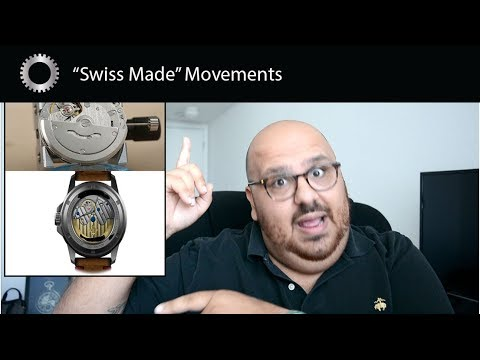 """""""Swiss Made"""" Watch Movements Made In China ??? - RANT"""