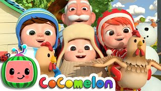 Christmas At The Farm | CoComelon Nursery Rhymes & Kids Songs