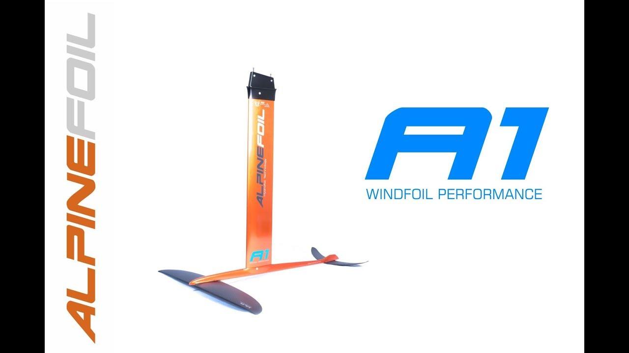 Presentation WindFoil A1 by AlpineFoil