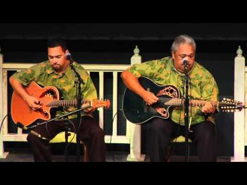 """Maunaloa Jam"" @SlackKeyShow Kevin & Ikaika Brown Hawaiian Music & Slack Key Masters"