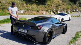 458 LIBERTY WALK ARMYTRIX !! UN OVNI !!