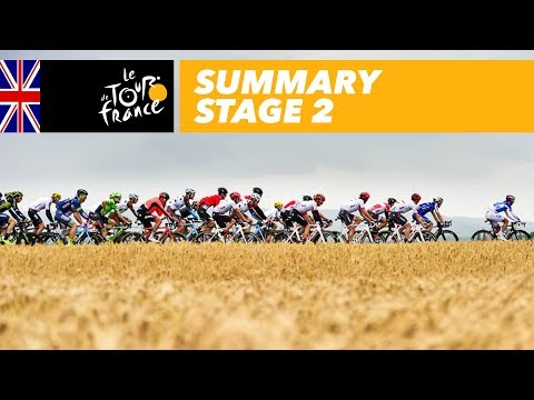 Summary - Stage 2 - Tour de France 2017