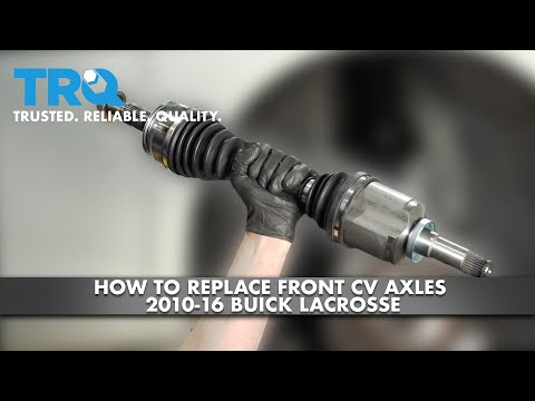 How To Replace Front CV Axle 2010-16 Buick LaCrosse