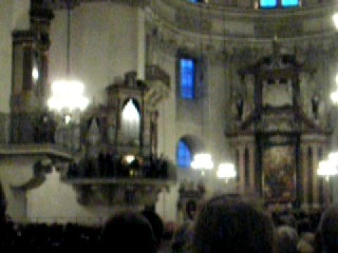 Salzburg Dom - Mozart Concert