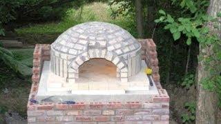 Самодельная печь для пиццы. Мастер класс(Сделать печь для пиццы своими руками совсем не просто! Вам понадобятся строительные материалы и инструмент..., 2014-06-22T09:39:10.000Z)