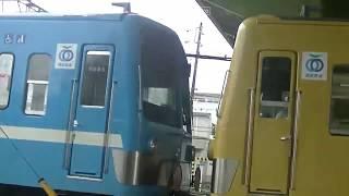 西武鉄道 251F甲種輸送入庫 6151F入庫 2000系2連入れ換え 小手指