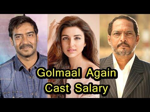 Golmaal Again Movie Actors Salary   2017