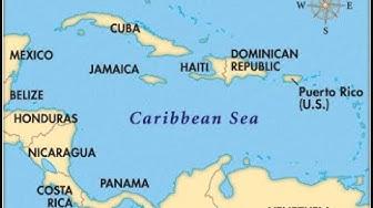Karibian saaristo - Rypäs saaria joita ei tullutkaan olemassaoloon
